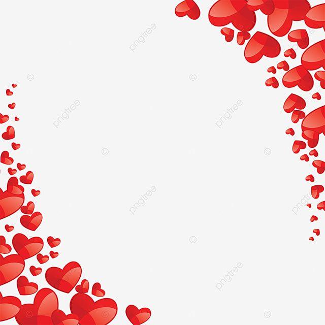 ناقلات قلب جميل قلب أحمر الإطار Png وملف Psd للتحميل مجانا In 2021 Free Clip Art Heart Vector Free Flower Frame