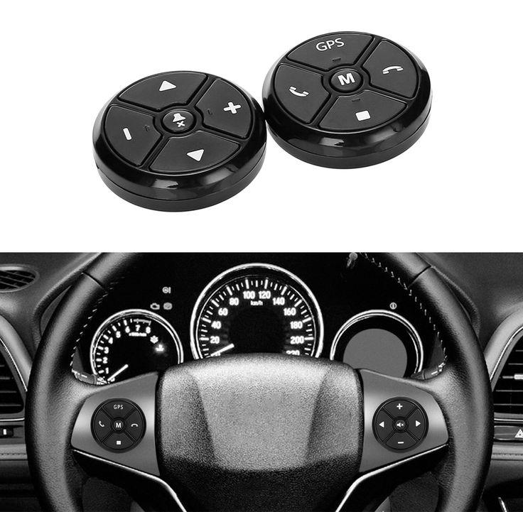 Compare price universal car steering wheel control key