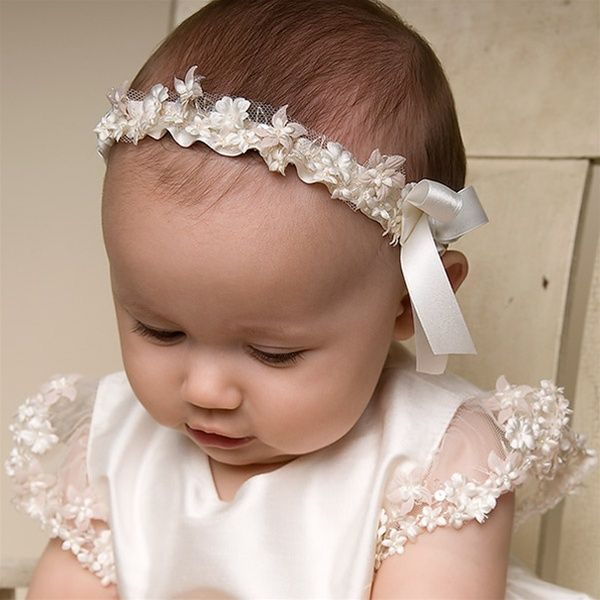 Baptismal Headband For Baby Andie Keller Christening