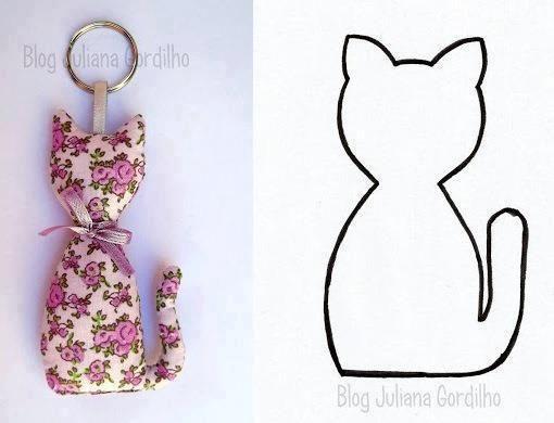 luluzinha chaveiro gatinho