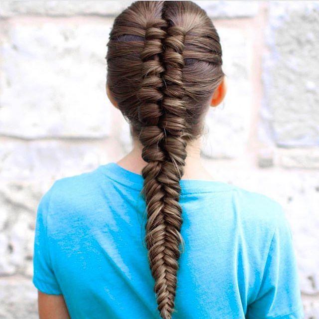 Infinity Braid Tieback | Back-to-School Hairstyles | Cute Girls Hairstyles