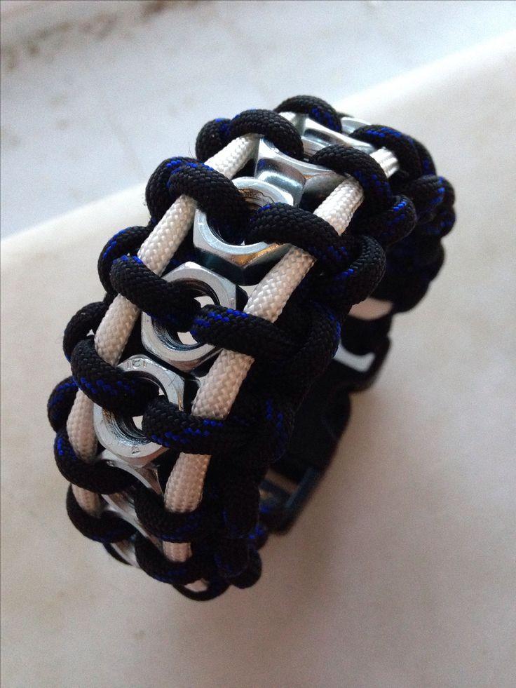 HexNut Paracord Bracelet