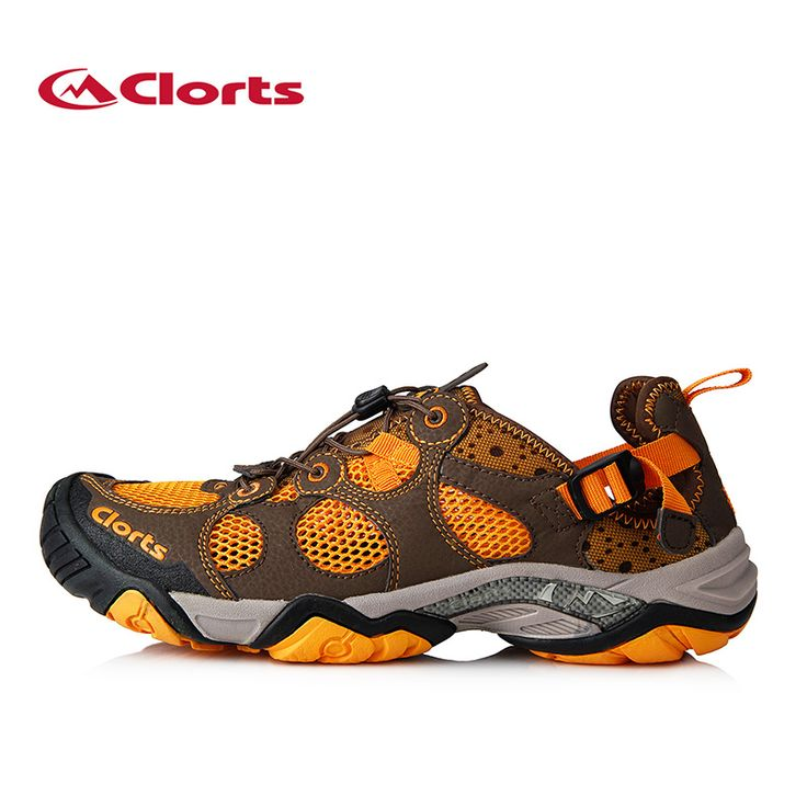Clorts Outdoor Trekking Shoes For Men Lightweight Quick dry Wading Shoes Breathable Walking Climbing Mountain Hiking Shoes Man
