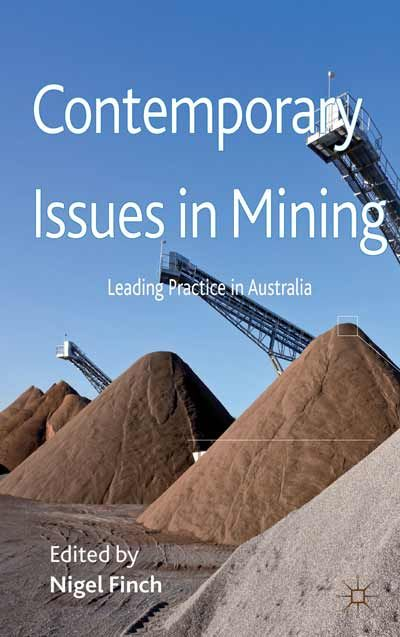 Contemporary Issues in Mining