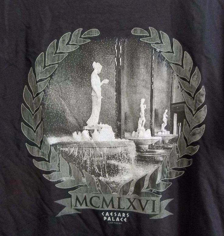 Caesars Palace Las Vegas Nevada Statues T Shirt Adult Medium New with Tags  #Caesars