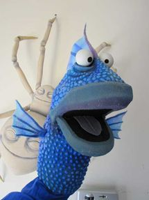 For the story This is Not my Hat, I think it would be fun to have a puppet show. This is a good comprehension activity to help students retell the story in chronological order. You would need a big fish puppet, a smaller fish puppet (could be homemade with gloves/beanie babies,) And a small hat. This could be made of paper.