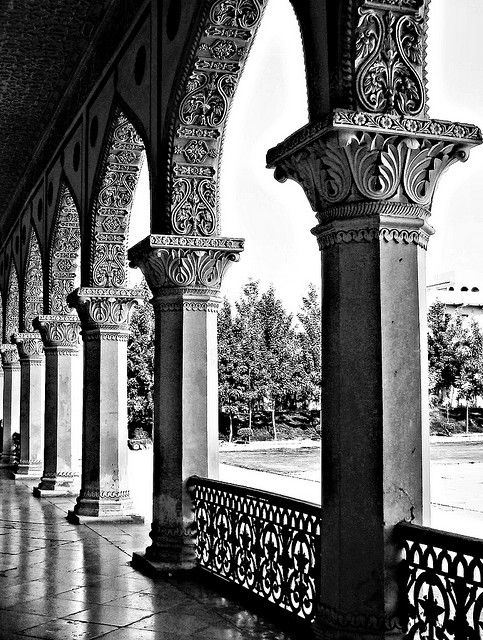 columns and arches, beautiful