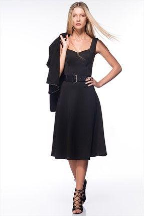Milla by trendyol · Küçük Siyah Elbiseler - Siyah Elbise MLWAW153951 sadece 89,99TL ile Trendyol da