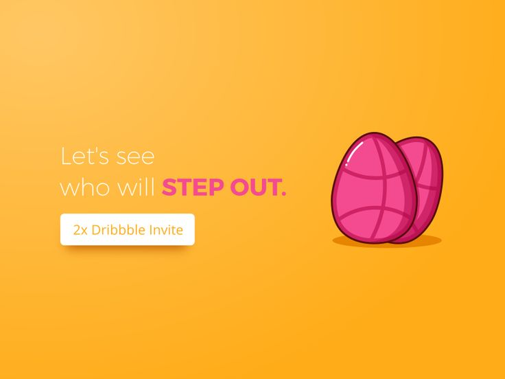 Hi Friends, Good news! I've got two Dribbble invites. Thanks Dribbble for this. So you know what to do next.  Shoot me an e-mail on jemis@iconscout.com  with: -Your best shots or your portfolio. -A link to your Dribbble profile. -A link to your website(If you've one).  Here's a small tip: If you're an icon designer then upload your icons on Iconscout.com and send your Iconscout profile link. You guys will have higher priority.  I'll announce result on by end of this month. Good luck.:)