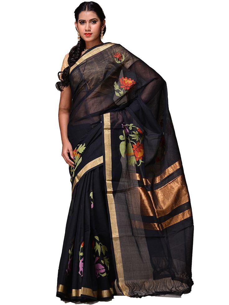 Handloom cotton Khadi Saree...kh0190a