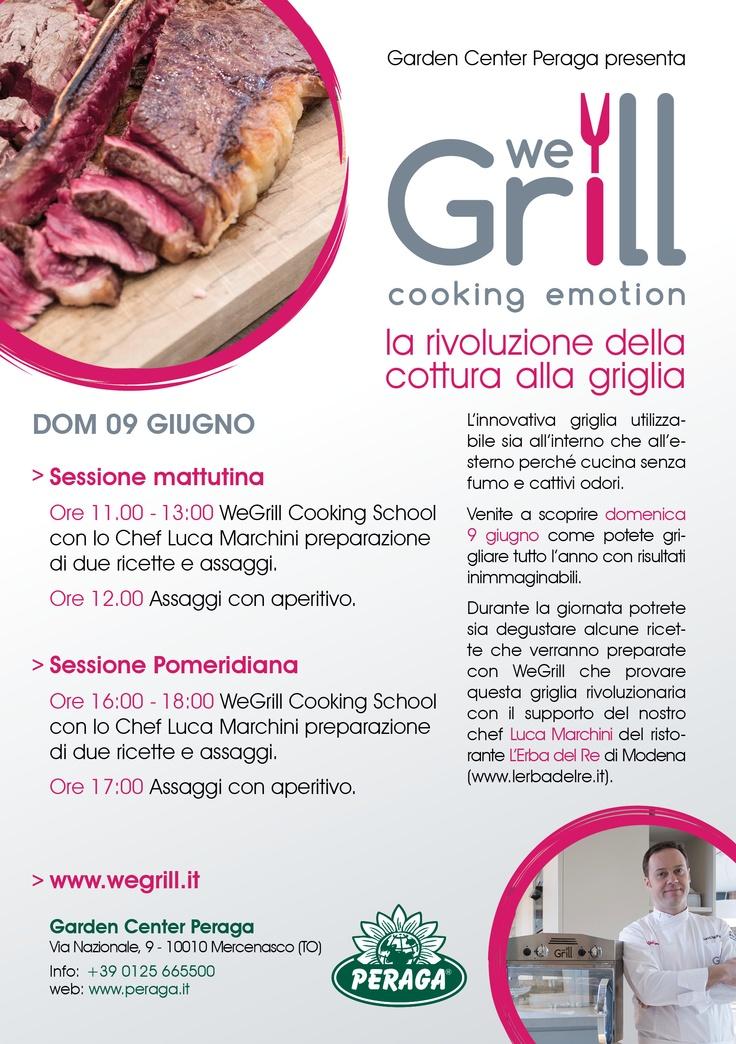 Cooking Show at Garden Center Peraga in Mercenasco - Turin - Italy - www.peraga.it #wegrill www.wegrill.eu