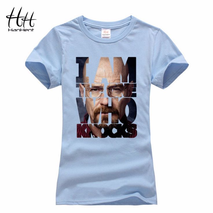 HanHent Summer T-Shirt Women Breaking Bad Cotton Short Woman Clothes Chemistry TV Heisenberg Camisetas Mujer 2016 T shirt Femme