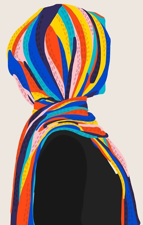 """#UnderTheHijab is power."" 