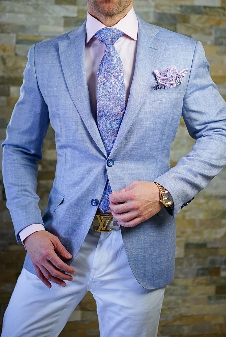 Accessories are to a suit as personality is to people. Be the best you! Be Bold™ #sebastiancruzcouture