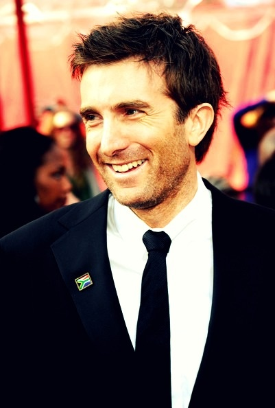 Sharlto Copley. South African and completely gorgeous.