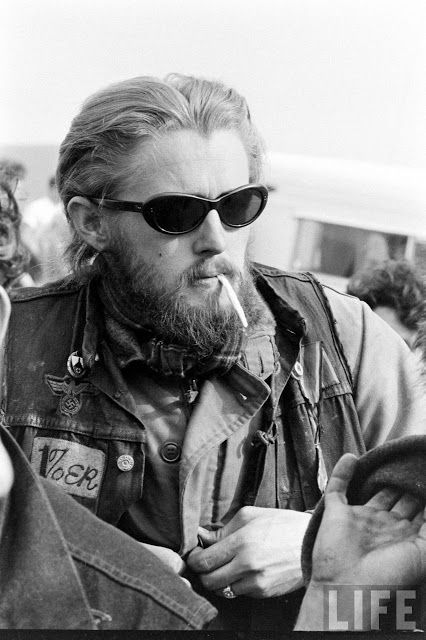 bill-ray-hells-angels | Old school bikers | Pinterest