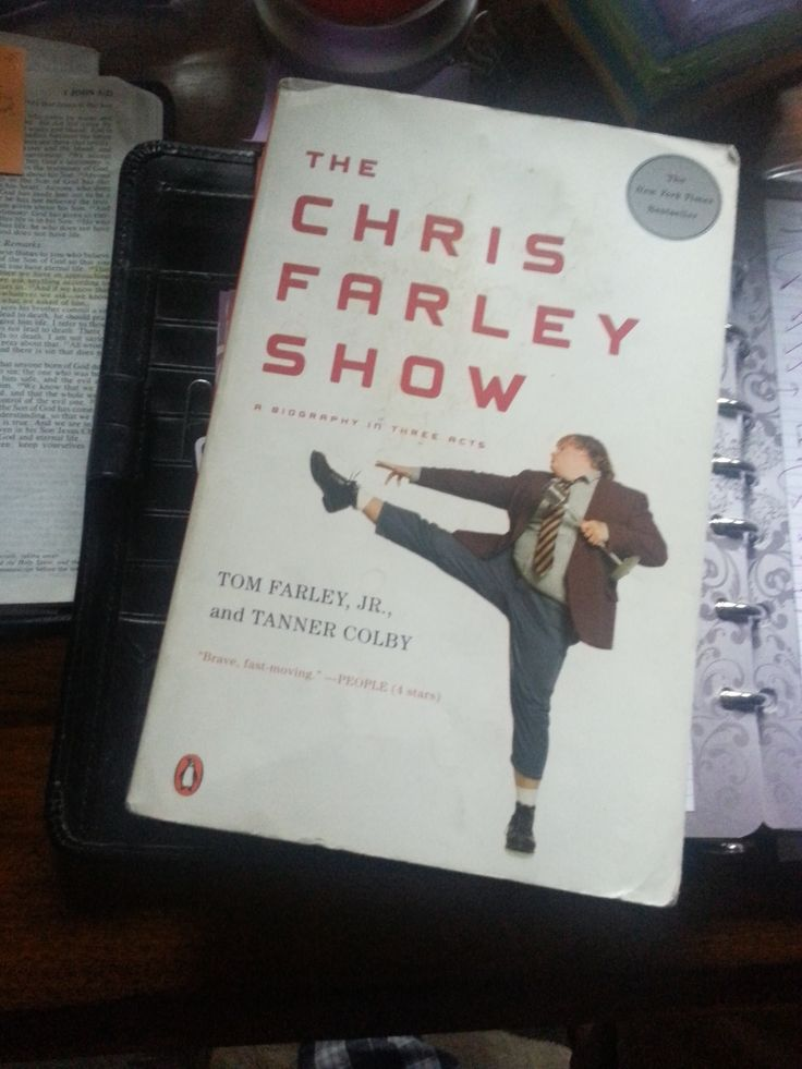 The Chris Farley Show: A Biography in Three Acts by Tom Farley Jr, Tanner Colby Jr., and Tom Farley