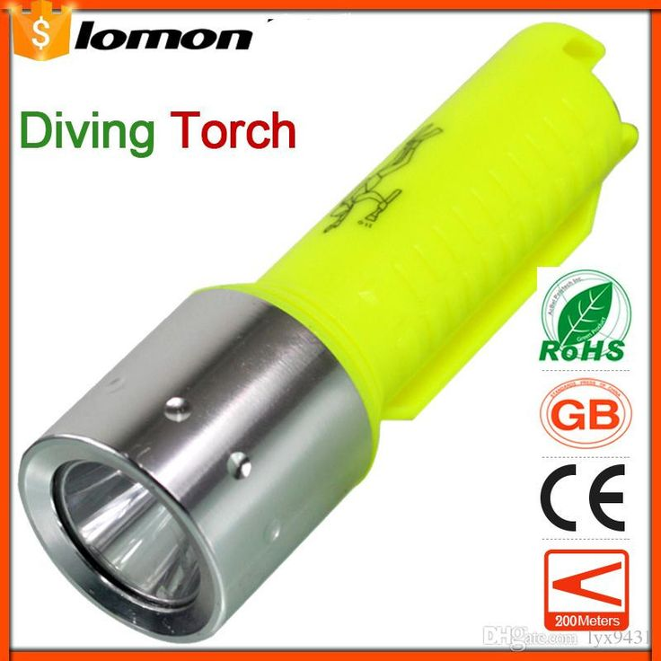 10000 Lumens Diving LED Flashlight Mini Portable Flash light magnetic control T6 CREE Scuba Diving Equipment Light Super Brightest Torch