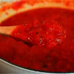 How to Make Homemade Pizza Sauce Allrecipes.com From Chef John - This is my new and improved version. And by 'new and improved,' I mean 'old and secret.' Here is my top-secret formula. The next time you're making homemade pizza, you might as well make some sauce too.