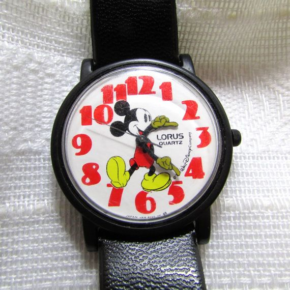 It's Time for Mickey - Vintage Lorus Mickey Mouse Watch