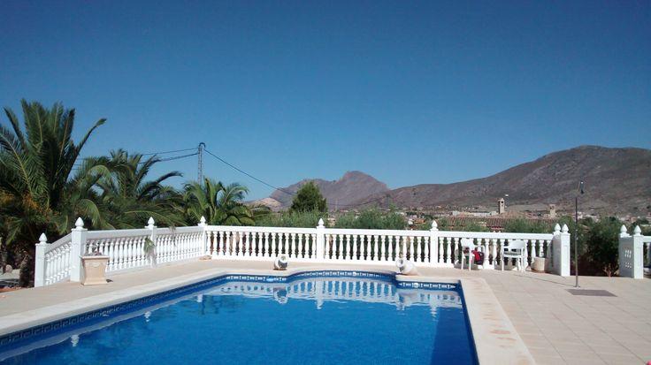 Hondon De Los Frailes, Hondon Valley, Alicante Region, Valencia in Spain.