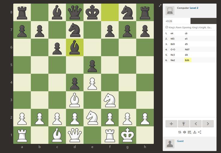 Juega al ajedrez online gratis contra la maquina o un rival 5 (100%) 1 vote Play Chess es una web impresionante para jugar al ajedrez, llena de opciones y muy rápida en las respuestas....