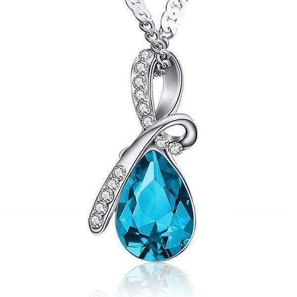 10 Colors of Sparkling Austrian Crystal, Beautiful Necklace Pendants