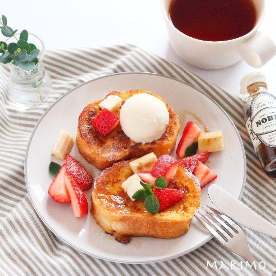 バゲットでフレンチトースト! marimo cafe