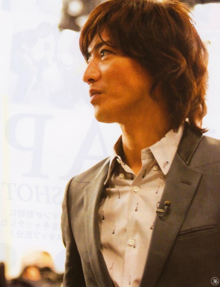 Gorgeous Kimura Takuya