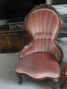 Antique Victorian His and Her Side Chairs Mississauga / Peel Region Toronto (GTA) image 3