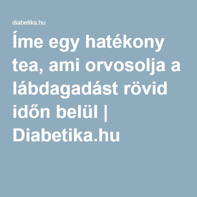 Íme egy hatékony tea, ami orvosolja a lábdagadást rövid időn belül | Diabetika.hu