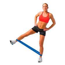 Resultado de imagem para exercicios com faixa elastica de latex loop