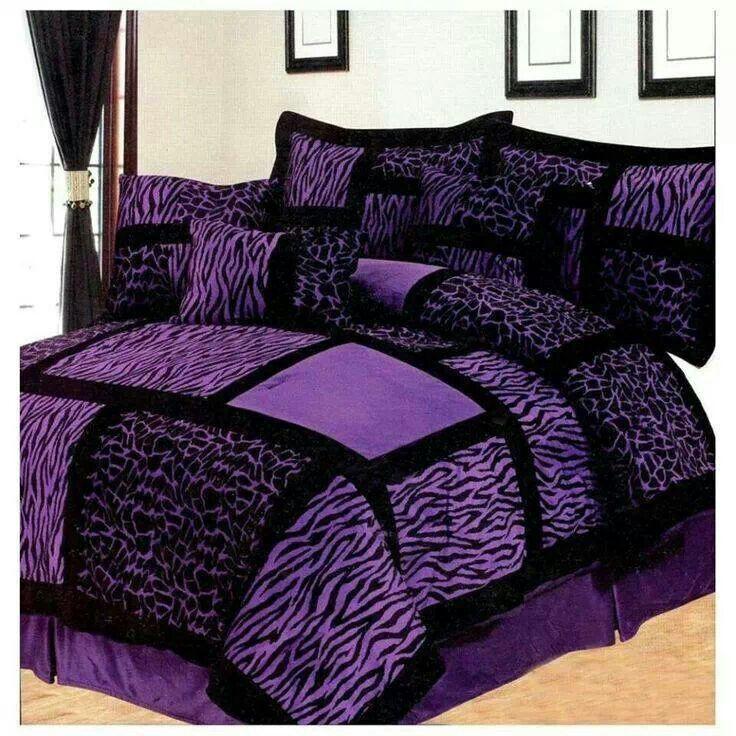 Purple bedding  Purple Passion  Pinterest