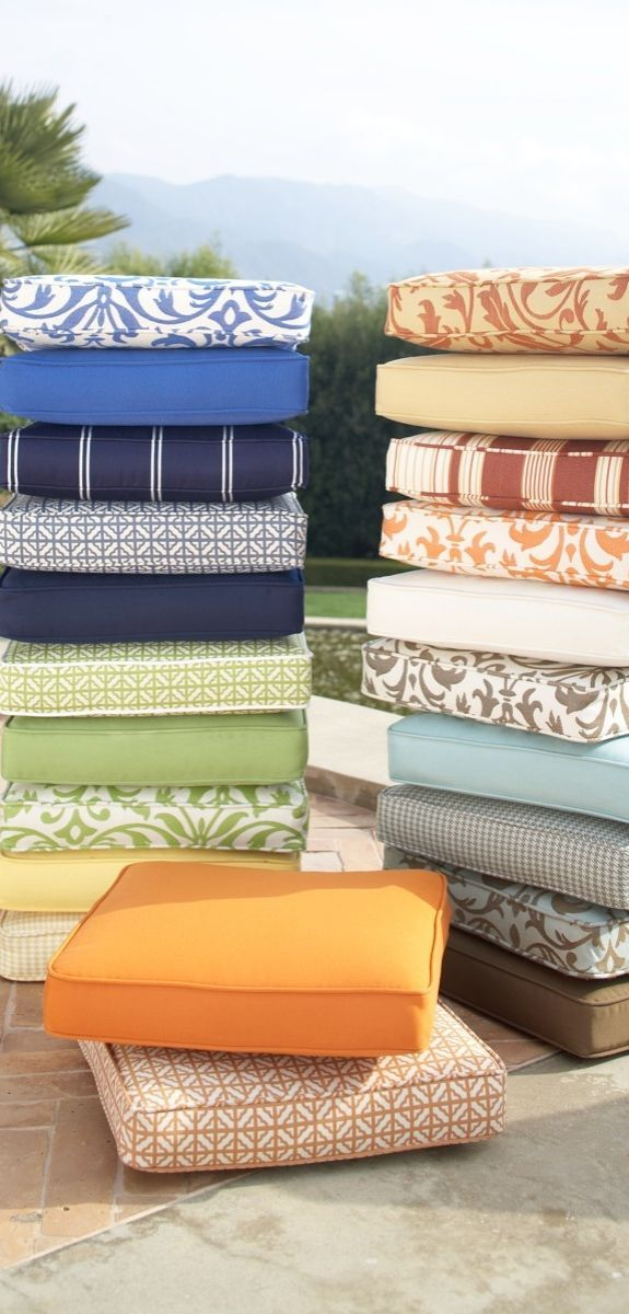 Diy Outdoor Cushions Furniture, Outdoor Furniture Replacement Cushion Covers