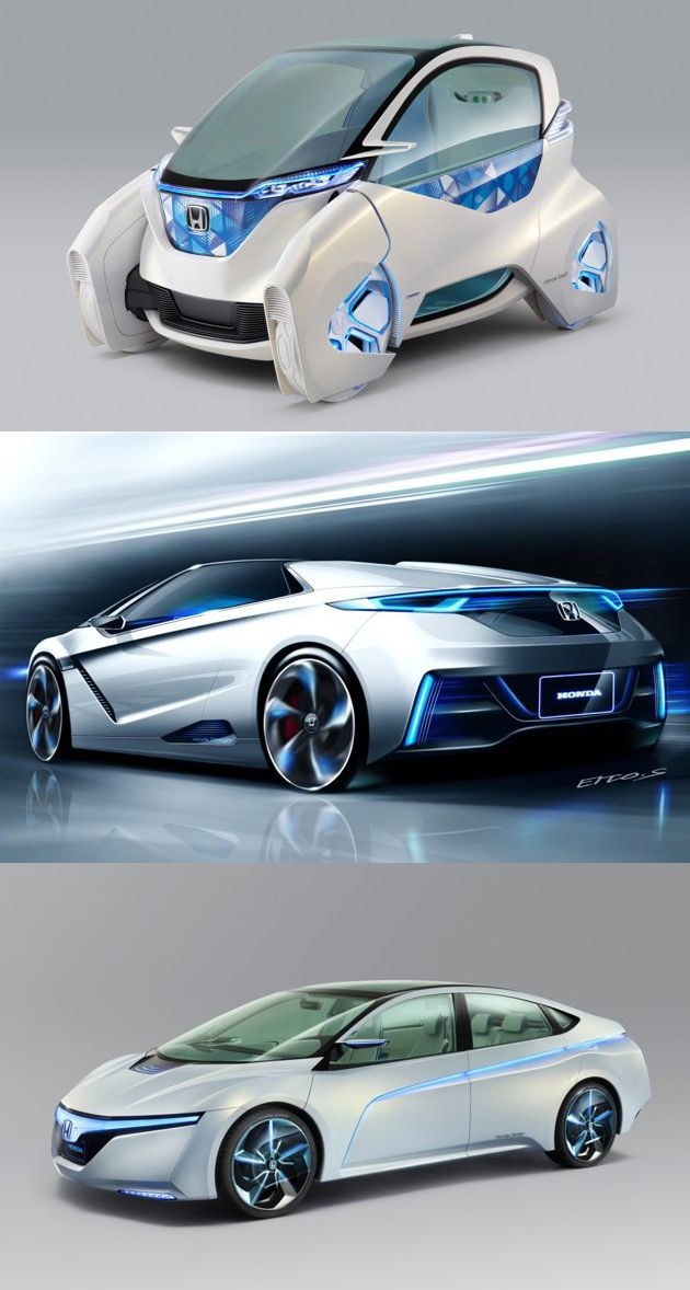 Honda EV / Hybrid Concept Cars (Tokyo Motor Show 2011) #Future #technology #futuretech