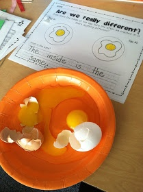 Black History Month- white/brown egg observations