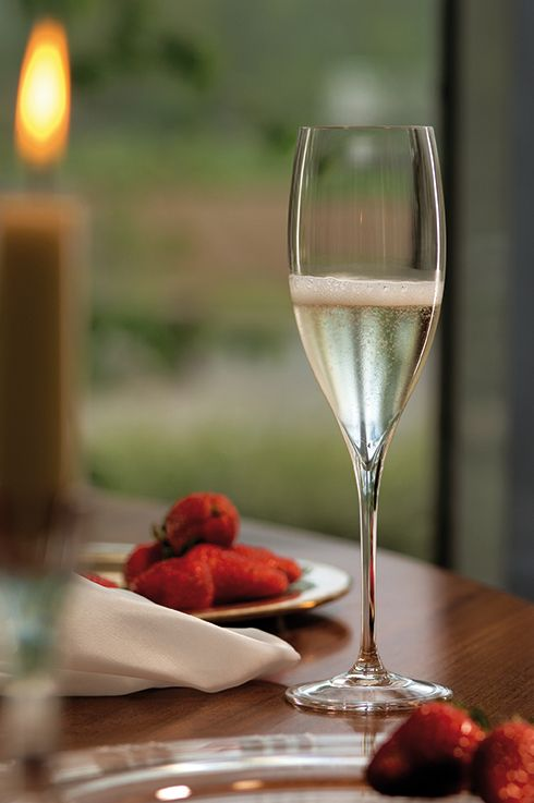 Champagne glass from Riedel | PerPR