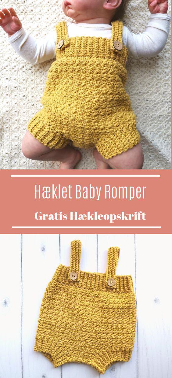 Häkeln Sie Baby Bodys   – Crochet