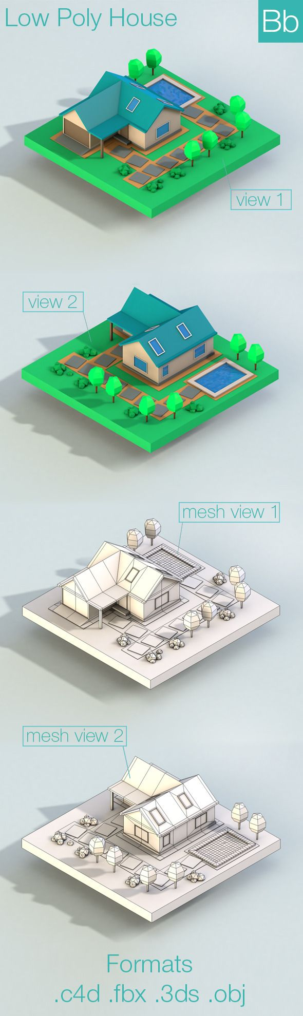 Best Isometric Indoor Model Images On   Isometric