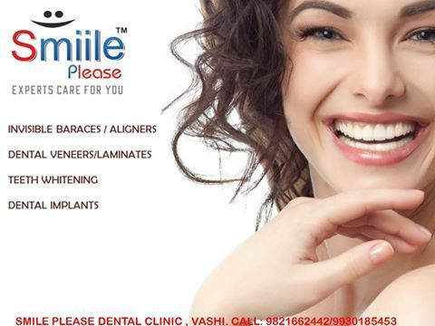 All kinds of expert and advanced dental solutions available only at SMILE PLEASE DENTAL CLINIC  Specialist in; INVISIBLE BRACES DENTAL IMPLANTS FULL MOUTH REHABILITATION DENTAL FILLINGS TEETH WHITENING GUM TREATMENTS http://smiileplease.com/
