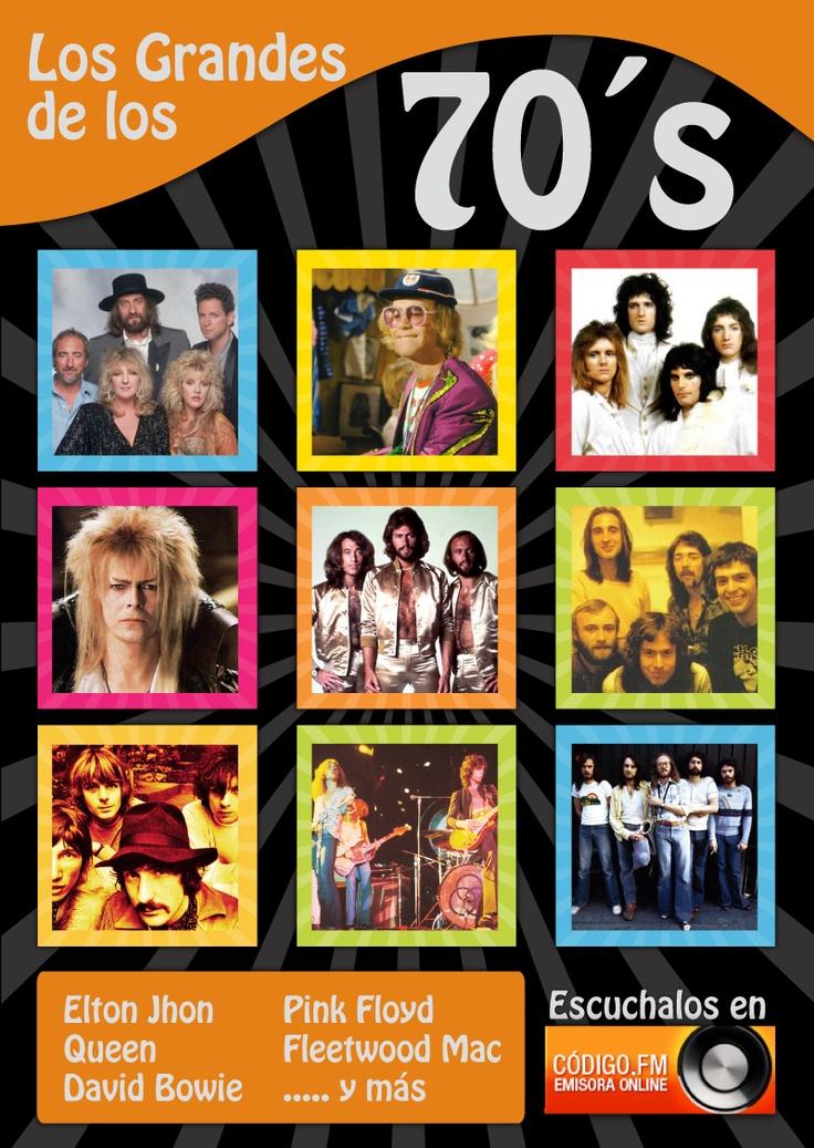 #EltonJhon, #PinkFloyd, #Queen, #DavidBowie