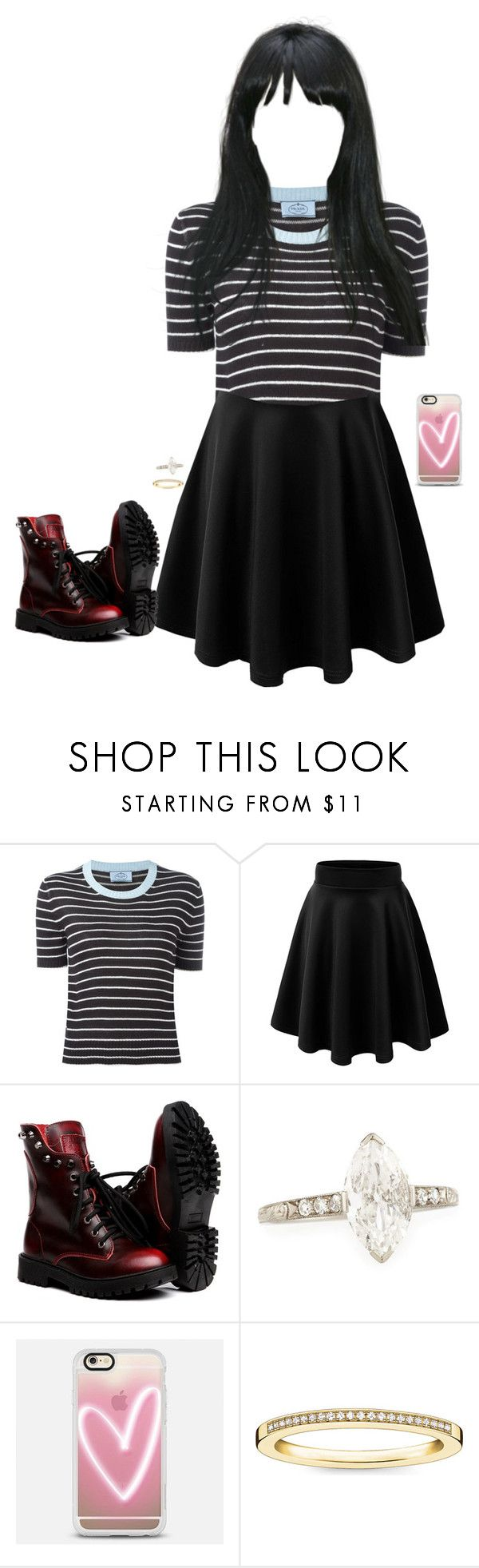 """""""Date"""" by lee-soohyun ❤ liked on Polyvore featuring Prada, Casetify and Thomas Sabo"""