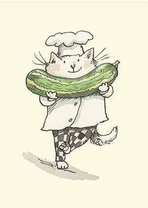 Marrow - idea for a card - by Anita Jeram