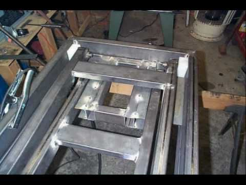 Motorcycle lift table plans free homemade diy solution for Motorcycle garage plans