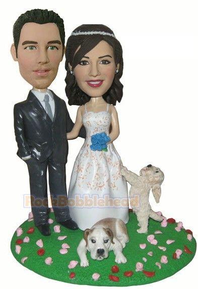 12 best wedding custom bobbleheads images on pinterest cake wedding custom wedding cake. Black Bedroom Furniture Sets. Home Design Ideas