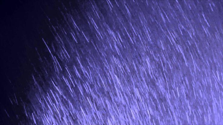 Футаж - Шум проливного дождя