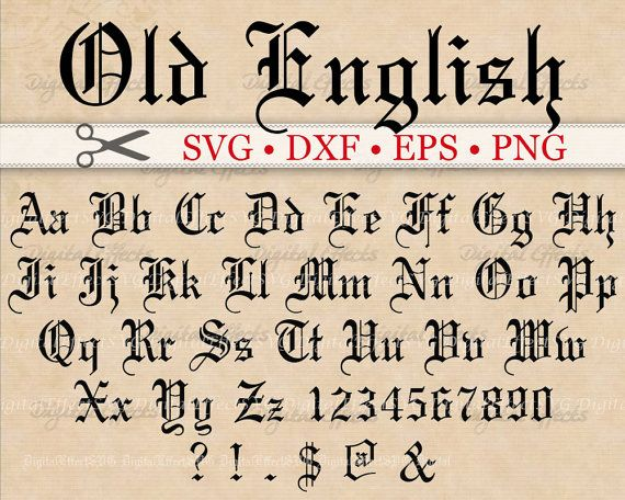Best 25 Old English Font Ideas Only On Pinterest Old