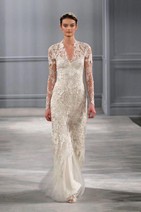 26 besten Monique Lhuillier Bilder auf Pinterest | Hochzeitskleider ...