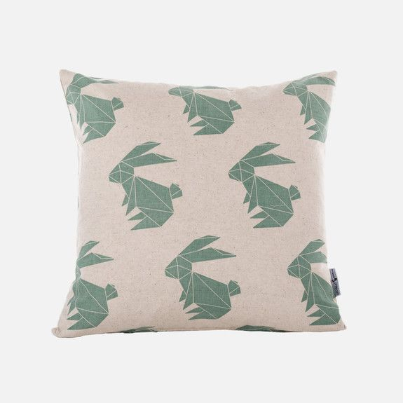 Artvraat Designs - Origami Rabbits Scatter Cushion Cover