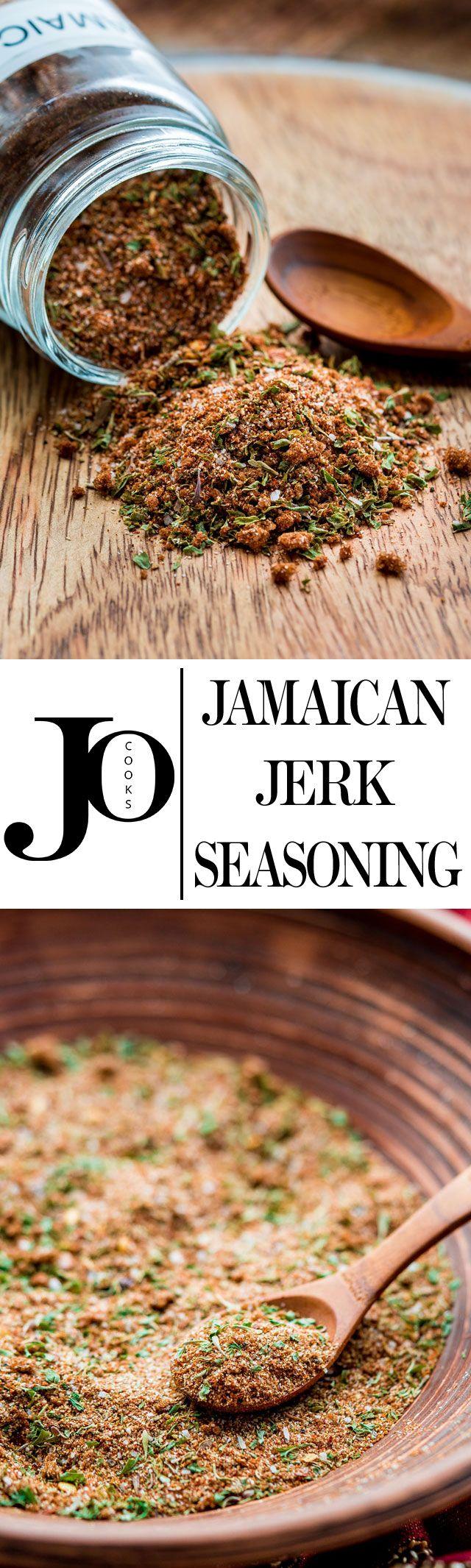 No Bake: Jamaican Jerk Seasoning - Jo Cooks